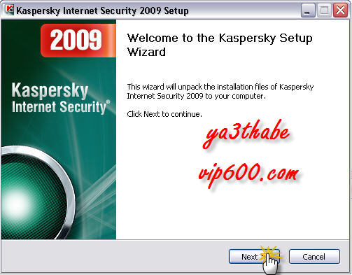 Kaspersky Internet Security 2009ARABEC 1