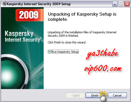 Kaspersky Internet Security 2009ARABEC 4