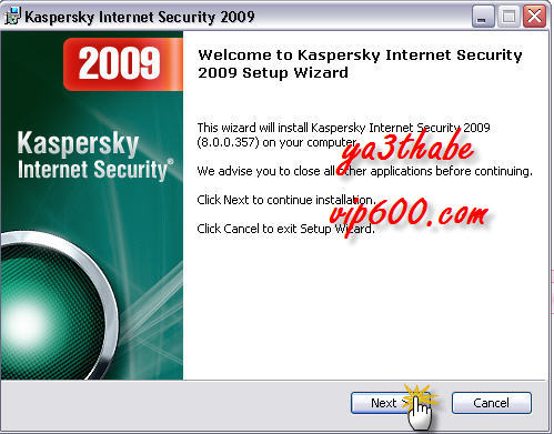 Kaspersky Internet Security 2009ARABEC 6